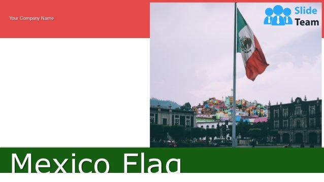 Mexico Flag Your Company Name