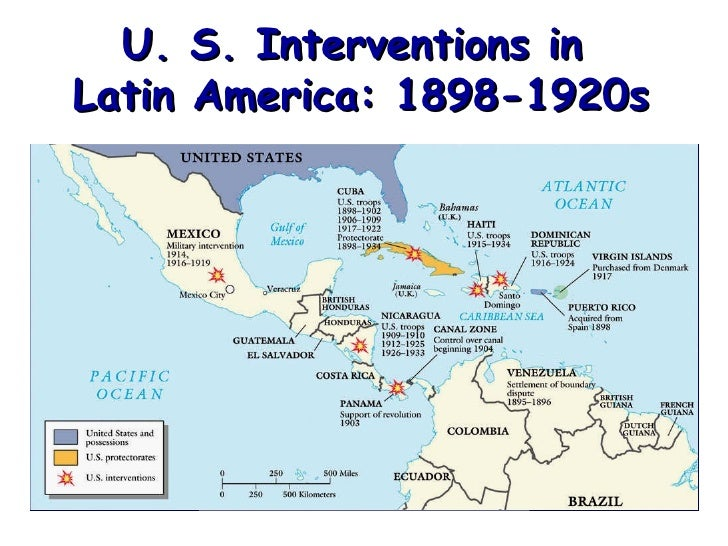 A history of the us imperialism in latin america