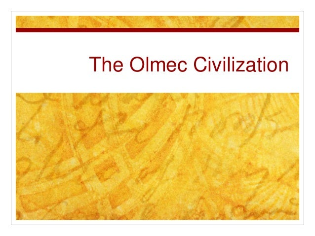 The Olmec Civilization