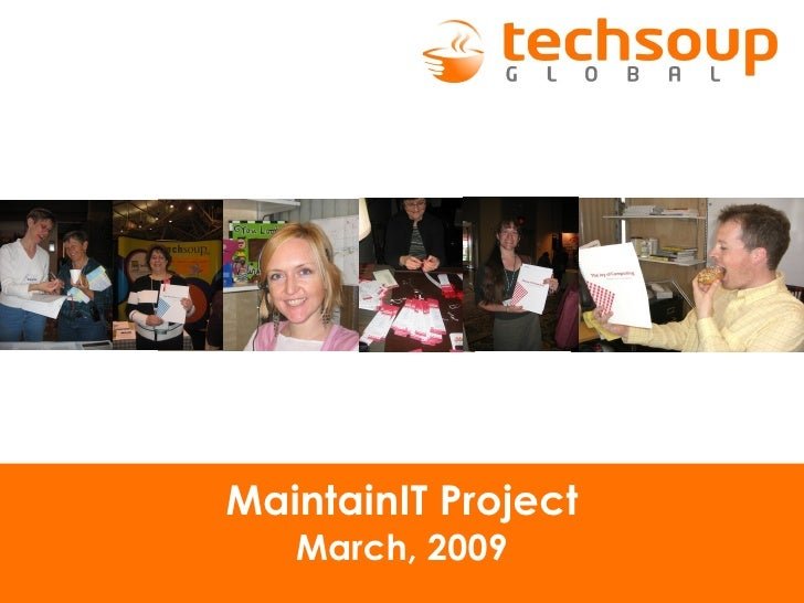 MaintainIT Project March, 2009
