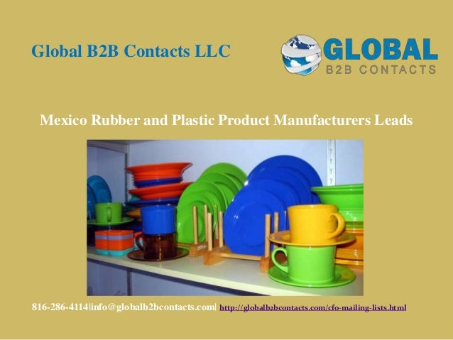 Mexico rubber and plastic product manufacturers leads