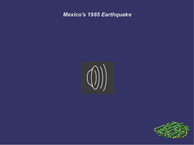 Mexico's 1985 Earthquake
