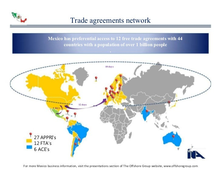 Automotive and autoparts industry trade agreements network mexico platinumwayz
