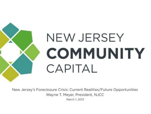 NJFuture Redevelopment Forum 13 Foreclosures Meyer