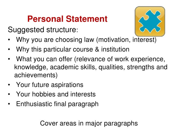 cab personal statement gdl