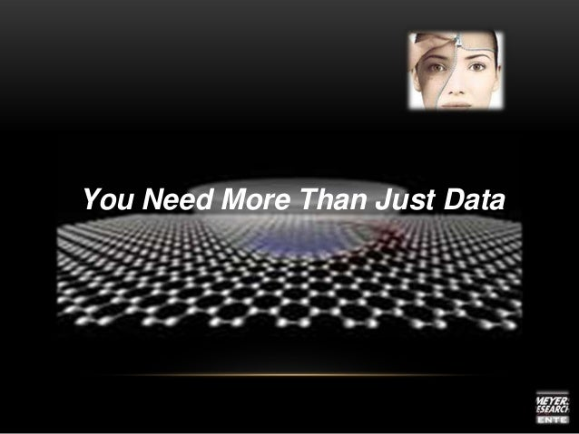 You Need More Than Just Data