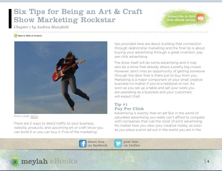 Driving profitability at art and craft shows for Mansfield arts and crafts show