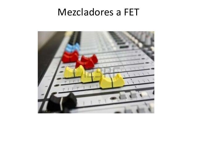 Mezcladores a FET