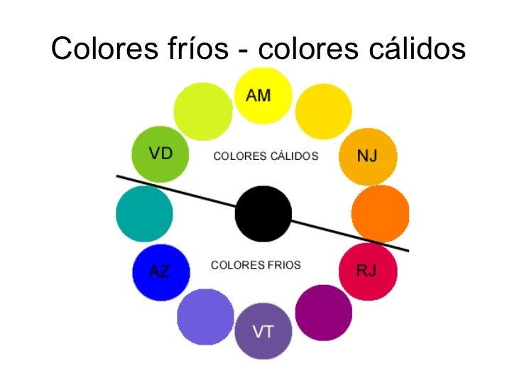 Mezclando colores - Colores calidos frios ...