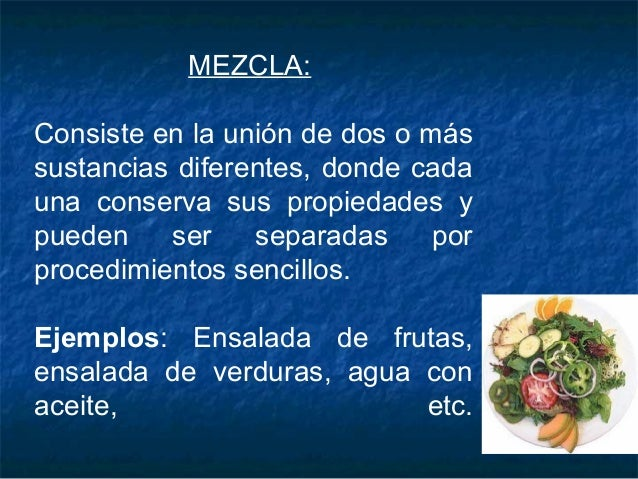 Ejemplos De Mezclas Y Combinaciones Para Niños De Primaria Hábitos De Niños