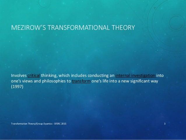 Mezirow's Perspective Transformation Slide 3