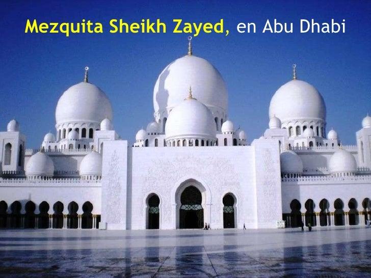 Mezquita Sheikh Zayed ,  en   Abu Dhabi