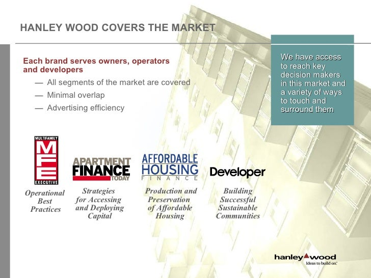 Hanley wood multifamily group how to sell to the for Handley wood