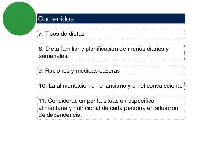 administraci n de alimentos y tratamientos ForDieta Familiar Y Planificacion De Menus Diarios Y Semanales