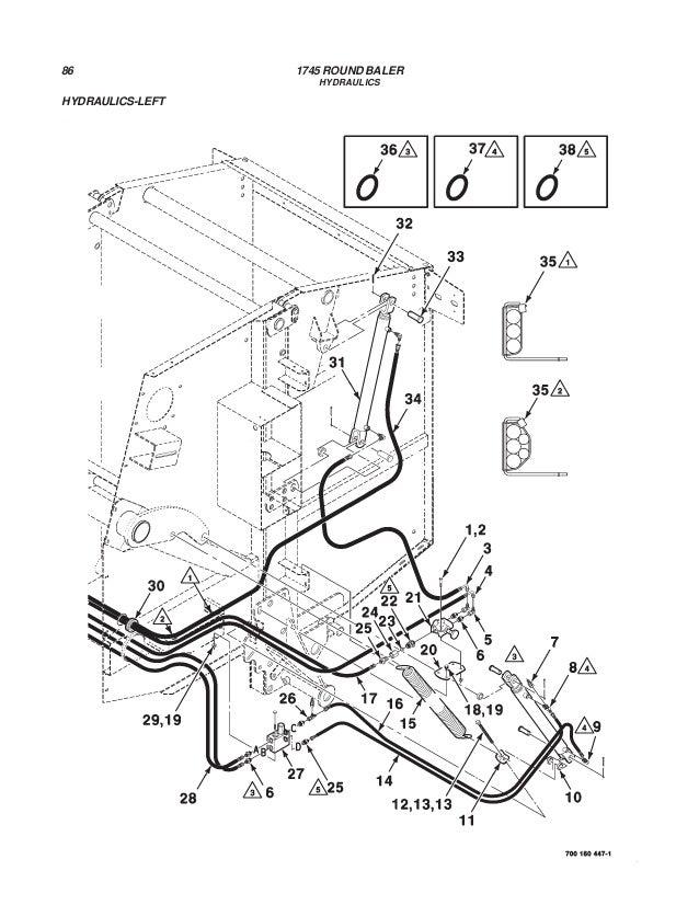 Massey Ferguson Hydraulic Diagram Part 13