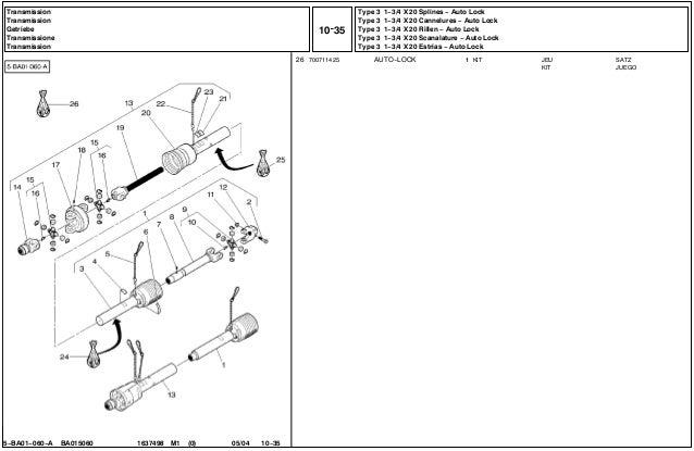 Massey Ferguson MF 186 parts catalog