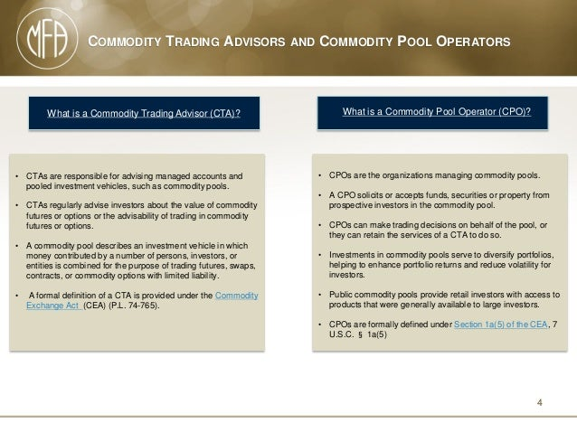 Act commodity trading options