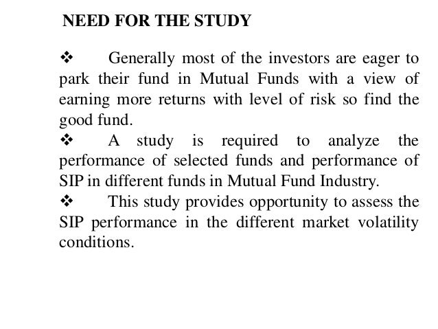an evaluation of the performance of three different mutual funds essay What are mutual funds  to focus on short-term performance when  ira or another tax-advantaged account may be subject to three different types.