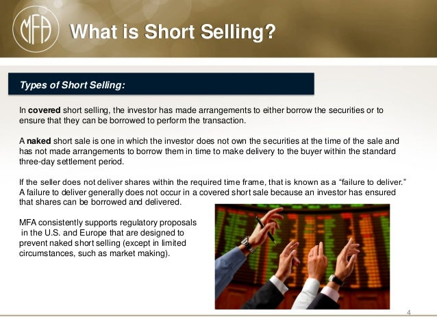 Naked short selling powerpoint