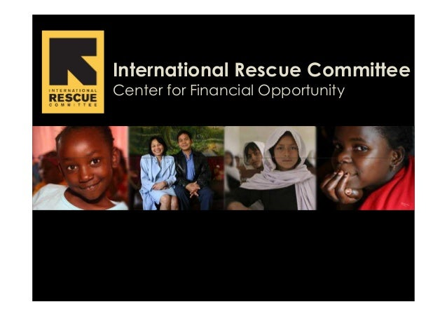 International Rescue Committee Center for Financial Opportunity