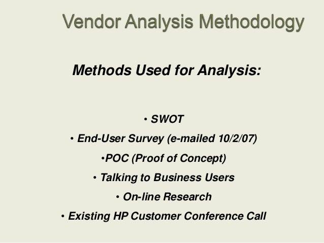 Mfd Vendor Analysis Presentation