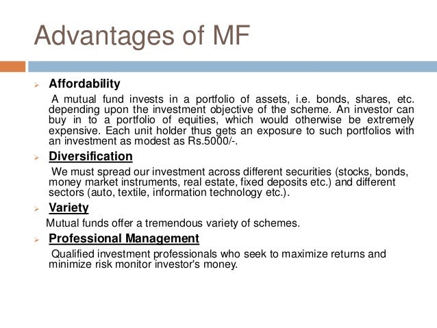an overview of a mutual fund Although a money market fund seeks to preserve the value of your investment at $1 per share, it is possible to lose money by investing in such a fund you must buy and sell vanguard etf shares through a broker, which may incur commissions vanguard etf shares are not redeemable directly with the issuing fund other than in creation unit aggregations.