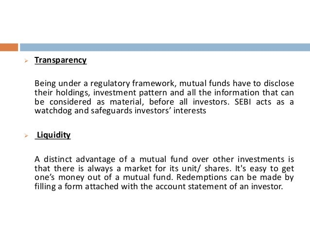 an overview of a mutual fund Mutual fund news in india also view various mutual fund companies in detail.