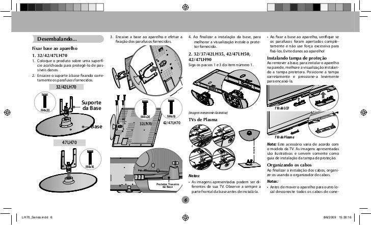 manual tv 32 lcd lg scarlet ii 32lh70yd rh pt slideshare net manual tv lcd lg 32ld420 LG Flat Screen TV Manuals