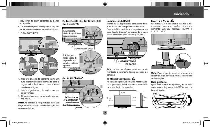 manual tv 32 lcd lg scarlet ii 32lh70yd rh pt slideshare net LG Flat Screen TV LG CableCARD Ready TV