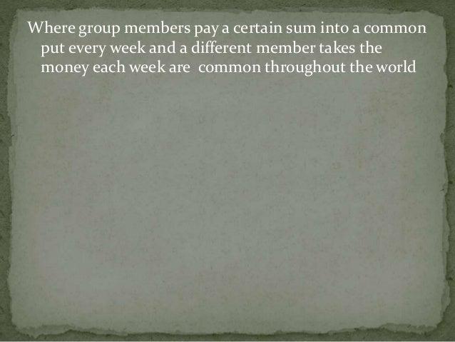 History of micro finance Slide 3