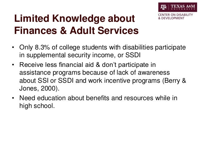 Lack Of College Disability Information >> Going To College A Guide To Transition Planning For Those With Disab