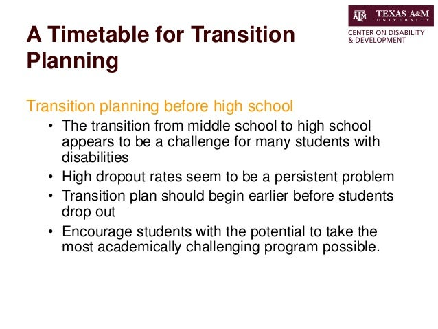 Planning For Transition Before >> Going To College A Guide To Transition Planning For Those With Disab