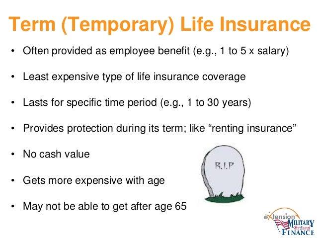 Life insurance webinar slides 28 term temporary life insurance platinumwayz