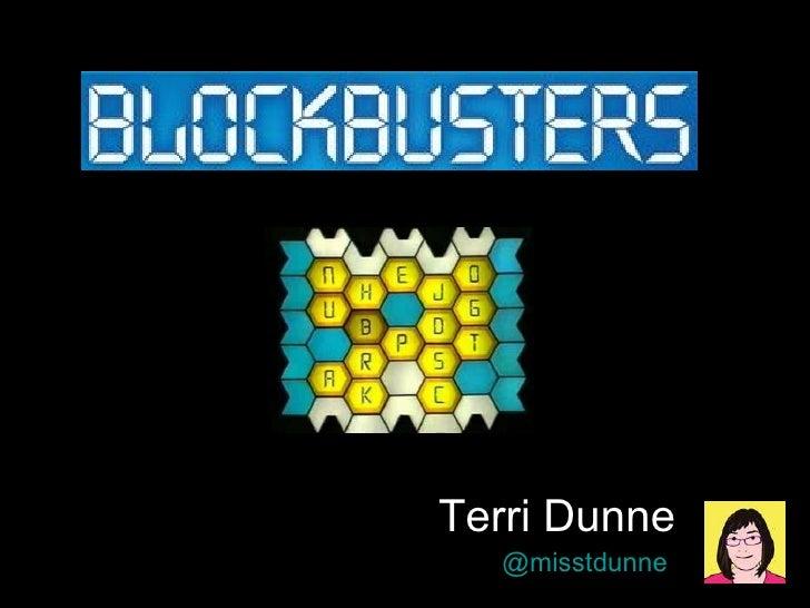 Terri Dunne @misstdunne