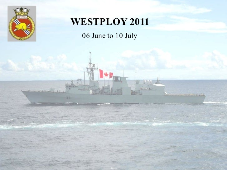 WESTPLOY 2011 06 June to 10 July