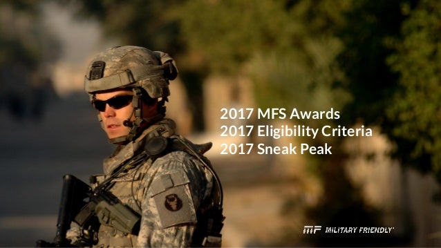 2017 Military Friendly Schools Survey What You Need To Know This Ye