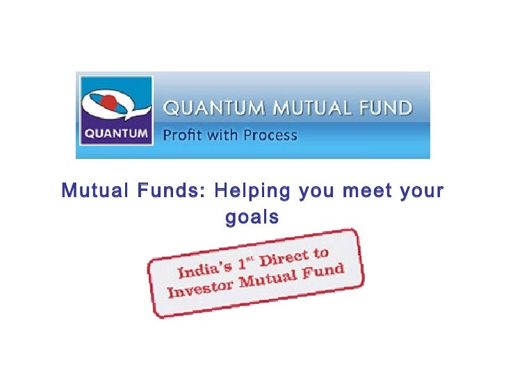Mutual Funds: Helping you meet your goals