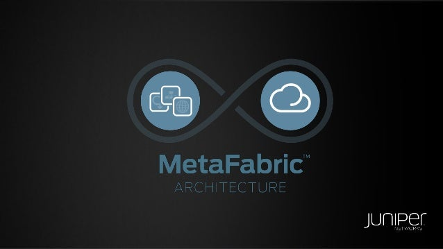 MetaFabric Architecture