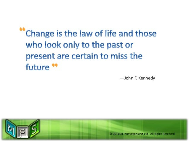 © CDTECH Innovations Pvt Ltd . All Rights Reserved —John F. Kennedy