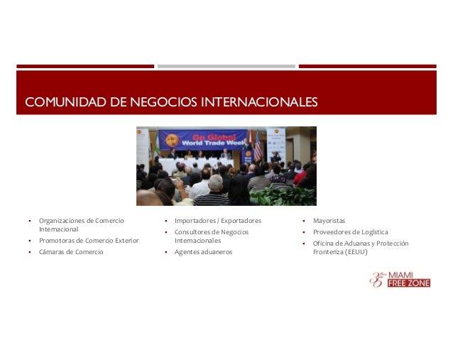 COMUNIDAD DE NEGOCIOS INTERNACIONALES   Organizaciones de Comercio  Internacional   Promotoras de Comercio Exterior   C...