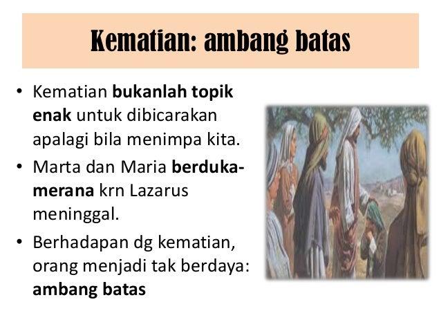 Mg. prapaskah v   a (05-06 april 2014) Slide 2