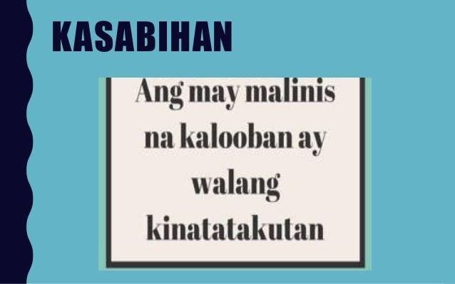 mga kasabihan sa wikang tausug at ang kahulugan nito If you heard me saying this to you, i hope you know the meaning already :p   ano po ibig sabihin nito syu nag hindu kymu mg tausug yan.
