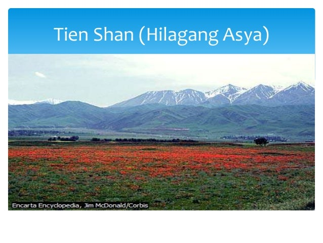 Tien Shan (Hilagang Asya)