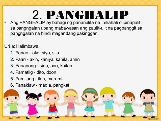 Mga Bahagi Ng Pananalita Slide 3