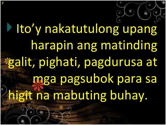 Tagalog essay tungkol ko buhay