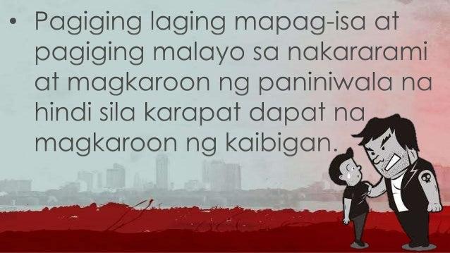 • Ang mga miyembro ng gang ay mas madalas na nasa kalye at kung minsan ay humahawak ng baril o iba pang mga armas na nakas...