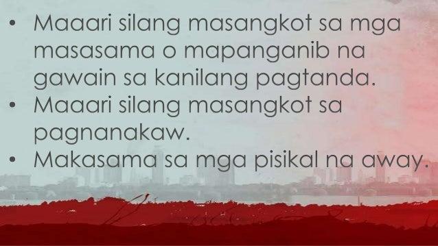 • Halimbawa: ay ang regulasyon ng media upang mabawasan ang pagpapalabas at paglalathala ng karahasan dito, ang paghuhubog...