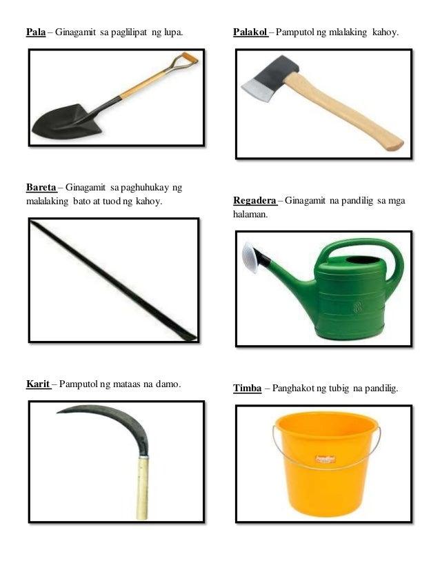 Mga kagamitan sa pagtatanim at paghahalaman for Gardening tools kalaykay