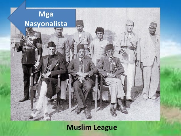 Mga Nasyonalista  Muslim League
