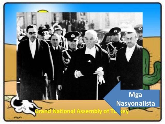 Mga Nasyonalista  Grand National Assembly of Turkey